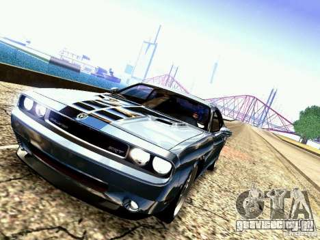 Dodge Challenger SRT8 2009 для GTA San Andreas вид сбоку
