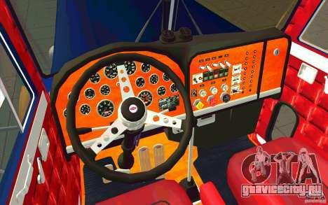 Peterbilt 359 Custom для GTA San Andreas вид справа