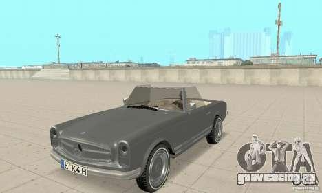 Mercedes-Benz 280SL (матовый) для GTA San Andreas