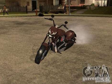 Harley Davidson для GTA San Andreas