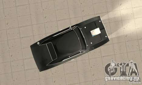 Dodge Charger RT 1970 The Fast & The Furious для GTA San Andreas вид справа
