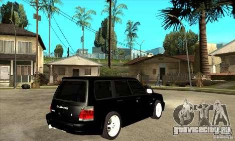 Subaru Forester 1997 года для GTA San Andreas вид справа