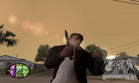 German WWII Knife для GTA San Andreas