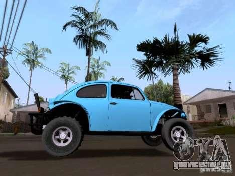 Volkswagen Buggy 1963 для GTA San Andreas вид сзади слева