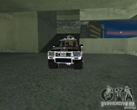Toyota Surf v2.1 для GTA San Andreas салон
