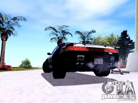 NFS Undercover Cop Car MUS для GTA San Andreas вид справа