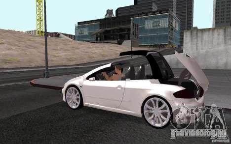 Peugeot 307CC BMS для GTA San Andreas салон