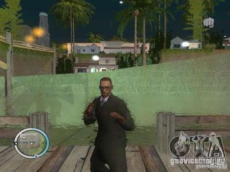 NEW GTA IV HUD 3 для GTA San Andreas третий скриншот