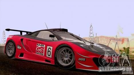 McLaren MP4-12C Speedhunters Edition для GTA San Andreas вид сбоку