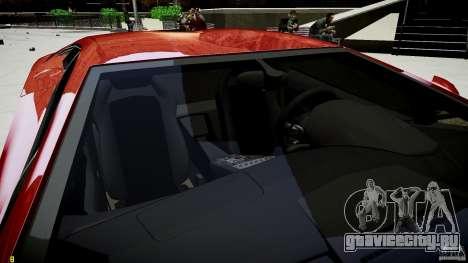Lamborghini Aventador LP700-4 для GTA 4 вид сверху