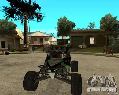 BAJA BUGGY для GTA San Andreas вид сзади