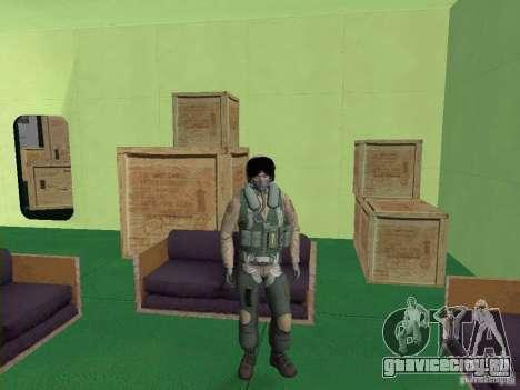 Военный пилот для GTA San Andreas