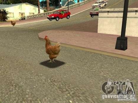 Куриный патруль для GTA San Andreas
