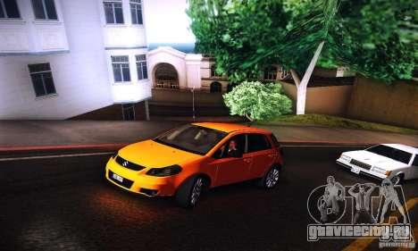 Suzuki SX4 Sportback Black 2011 для GTA San Andreas