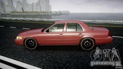 Ford Crown Victoria 2003 v.2 Civil для GTA 4 вид слева