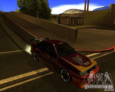 GTA VI Futo GT custom для GTA San Andreas вид изнутри