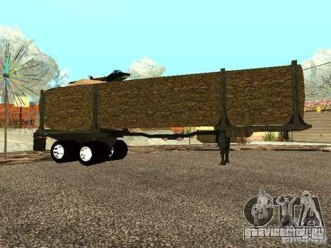 Спиленное дерево для GTA San Andreas вид слева