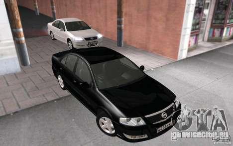 Nissan Almera Classic для GTA San Andreas вид справа