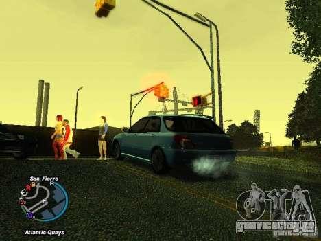 Subaru Impreza Wagon 2004 - 2002 для GTA San Andreas вид справа