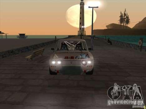 Ваз 2106 drift style для GTA San Andreas вид справа