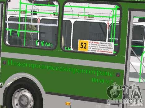 ЛиАЗ 5256.25 для GTA 4 вид изнутри