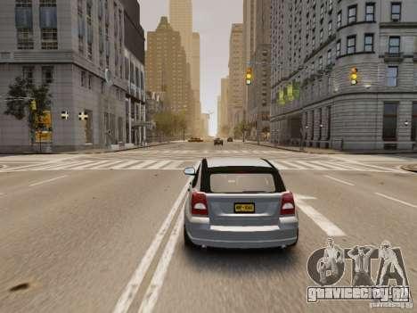 Dodge Caliber для GTA 4 вид сзади