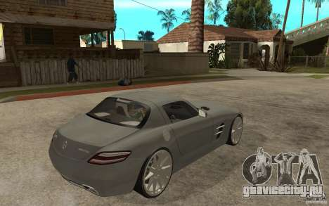 Mercedes-Benz SLS для GTA San Andreas вид справа