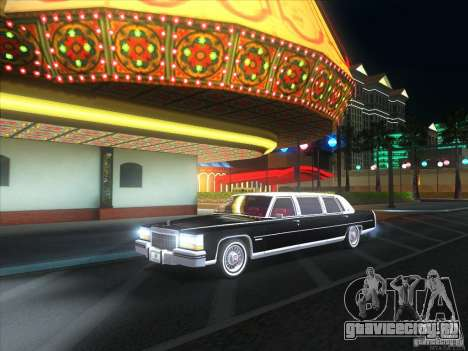 Cadillac Fleetwood Limousine 1985 для GTA San Andreas вид справа