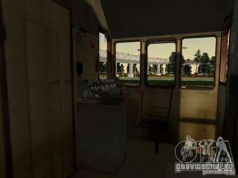 ТЭМ2УМ-463 для GTA San Andreas вид сзади