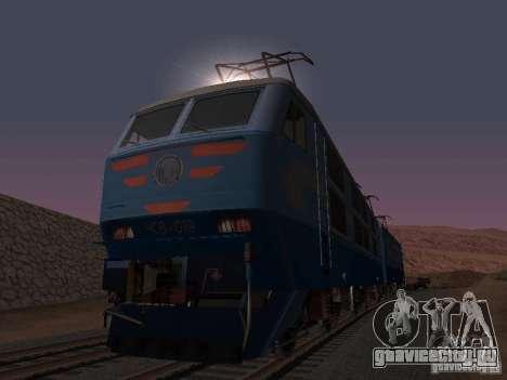 ЧС6 019 для GTA San Andreas вид изнутри