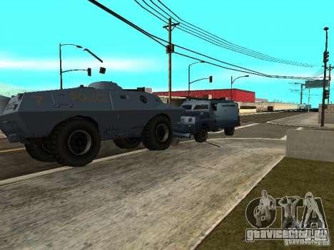 S.W.A.T. и FBI Truck ездят по улицам для GTA San Andreas четвёртый скриншот