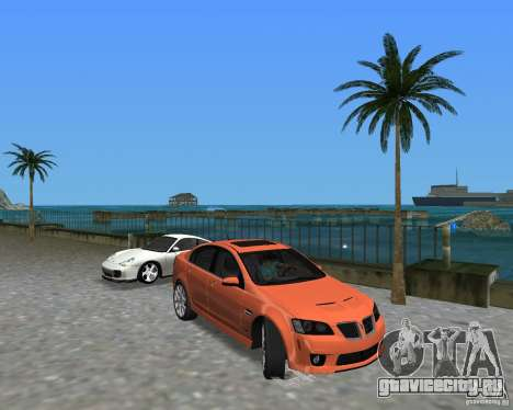 Pontiac G8 GXP для GTA Vice City