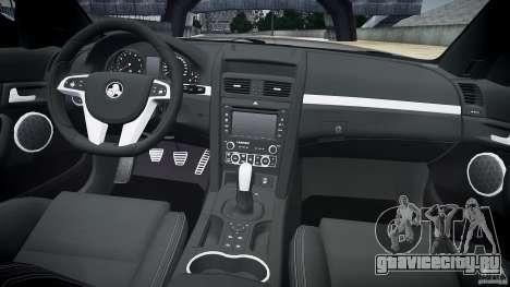 Holden Commodore SS (CIVIL) для GTA 4 вид сверху