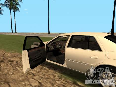 Cadillac DTS 2010 для GTA San Andreas вид сзади