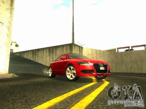 Audi TT 2009 v2.0 для GTA San Andreas вид сзади слева