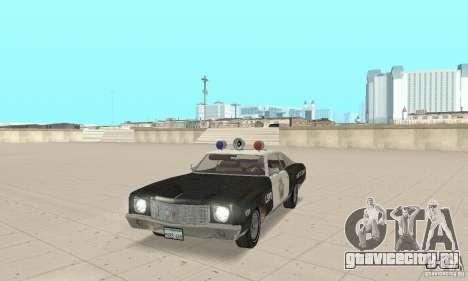 Chevrolet Monte Carlo 1970 Police для GTA San Andreas