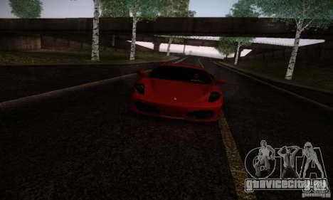 Ferrari F430 v2.0 для GTA San Andreas вид слева