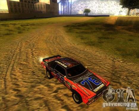 Bonecracker из FlatOut 1 для GTA San Andreas вид сзади