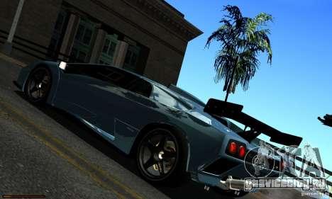 ENBSeries RCM для слабых ПК для GTA San Andreas восьмой скриншот