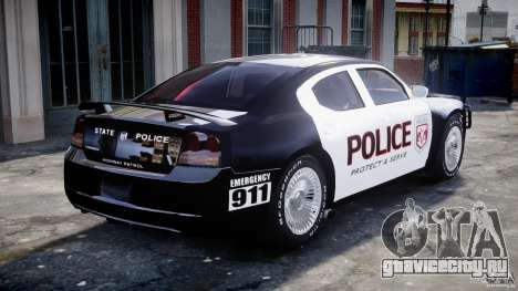 Dodge Charger SRT8 Police Cruiser для GTA 4 салон