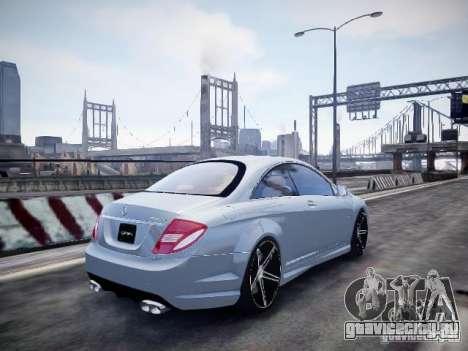 Mercedes-Benz CL65 AMG для GTA 4 вид слева