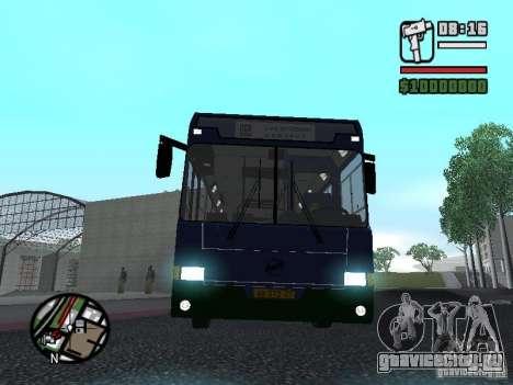 ЛиАЗ 5256.25-II для GTA San Andreas вид сзади