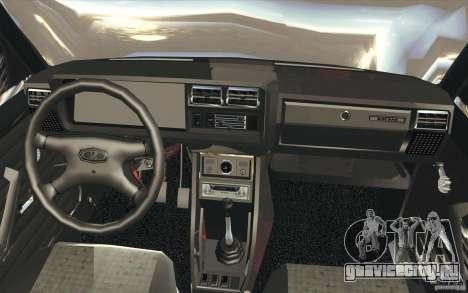 ВАЗ-2107 Lada Street Drift Tuned для GTA San Andreas вид сверху