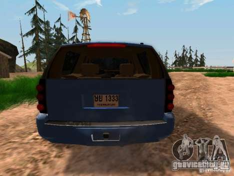 GMC Yukon Denali XL для GTA San Andreas вид справа