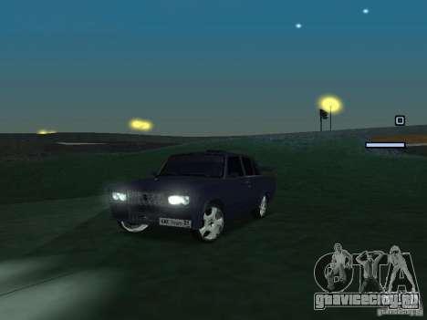 ВАЗ 2105 Drift King для GTA San Andreas вид слева
