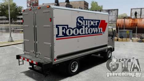 Новая реклама для грузовика Mule для GTA 4 вид слева