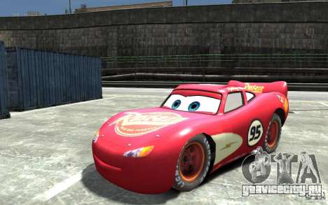 Lighting McQueen для GTA 4