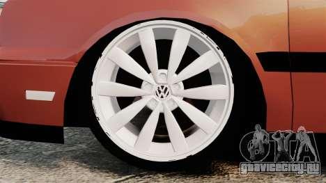 Volkswagen Golf MK3 Turbo для GTA 4 вид сзади