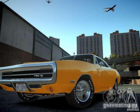 Dodge Charger Magnum 1970 для GTA 4 вид изнутри