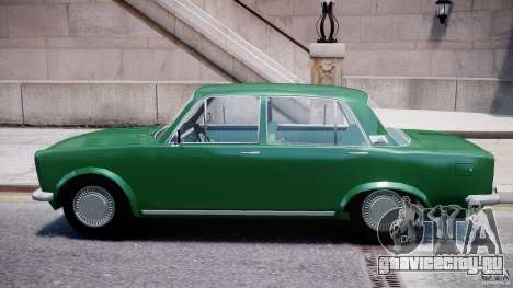 Fiat 125p Polski 1970 для GTA 4 вид сзади слева
